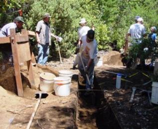 Excavations by Field School Students
